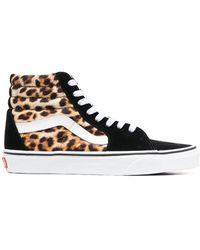 Vans Sneakers mit Leoparden-Print - Schwarz