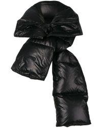 Juun.J Padded Scarf - Black