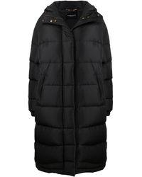 Versace Пуховик С Металлическим Логотипом - Черный