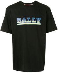 Bally ロゴ Tシャツ - ブラック