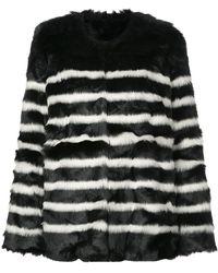 FRAME オーバーサイズ コート - ブラック