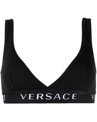Versace Bh Met Logoband - Zwart
