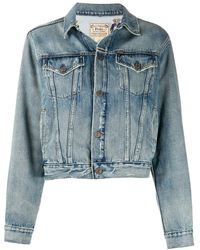 Polo Ralph Lauren - Veste en jean Polo Bear - Lyst