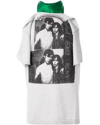Raf Simons レイヤード Tシャツ - マルチカラー