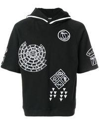 KTZ Embroidered Hoodie - Black