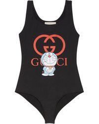 Gucci X Doraemon 水着 - ブラック