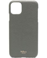 Mulberry Чехол Grain Для Iphone 11 Pro Max - Серый