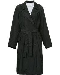 Calvin Klein - Belted Lightweight Raincoat - Lyst
