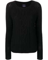 Woolrich - Cable Knit Jumper - Lyst
