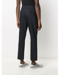 Karl Lagerfeld テーラードパンツ - ブラック