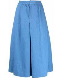 Stephan Schneider Program A-line Slit Skirt - Blue