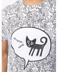 10 Corso Como Graphic Print Short-sleeved T-shirt - White