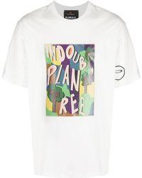 Peuterey グラフィック Tシャツ - ホワイト
