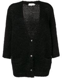 L'Autre Chose - Basic Buttoned Cardigan - Lyst