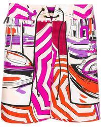 Emilio Pucci - Saint Tropez Print Shorts - Lyst