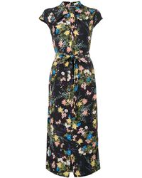 Erdem Floral-print Dress - ブラック
