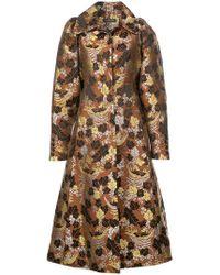 Jill Stuart - Floral Jacquard Coat - Lyst