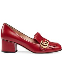 Gucci - Mid-heel Court Shoes - Lyst