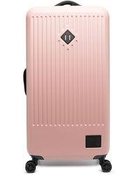 Herschel Supply Co. ロゴパッチ スーツケース - ピンク