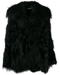 Stella McCartney Шуба Aurora Fur Free Fur - Черный