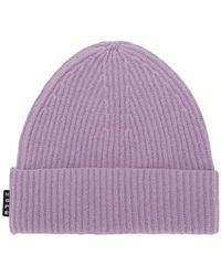Hope - Ribbed Knit Beanie - Lyst