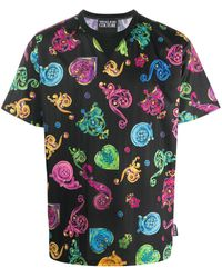 Versace Jeans - バロック Tシャツ - Lyst