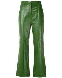 EVA Pantalon à coupe ample - Vert