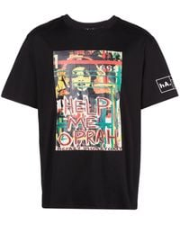 Haculla - Help Me プリント Tシャツ - Lyst