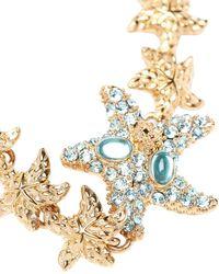 Versace Колье Trésor De La Mer С Кристаллами - Металлик