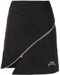 A_COLD_WALL* ジップトリム スカート - ブラック