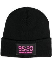 DSquared² - 95:20 ロゴパッチ ビーニー - Lyst