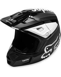 Supreme Fox Racing V2 ヘルメット - ブラック