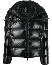 Hogan キルティング パデッドコート - ブラック