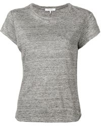 FRAME ラウンドネック Tシャツ - グレー
