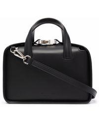1017 ALYX 9SM Small Leather Tote Bag - Black