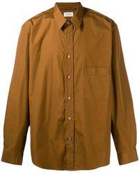 Lemaire - Oversized Plain Shirt - Lyst