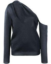 Cushnie - One Shoulder Sweater - Lyst