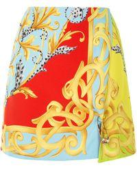 Versace バロックパターン スカート - マルチカラー