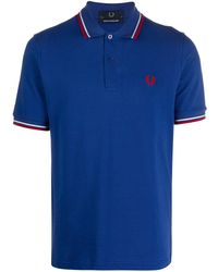 Fred Perry - ピケ ポロシャツ - Lyst