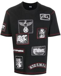 KTZ マルチパッチ Tシャツ - ブラック