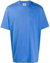 Y-3 オーバーサイズ Tシャツ - ブルー