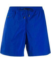 Brioni Drawstring Swim Shorts - Blue
