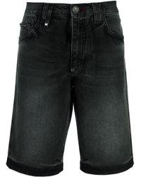 Philipp Plein Bermuda Shorts - Zwart