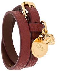 Alexander McQueen - Charm Wrap Bracelet - Lyst