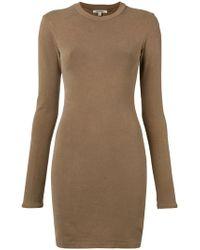 Yeezy Season 6 Crewneck Dress - Brown