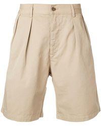 Hope Wide Leg Shorts - Natural
