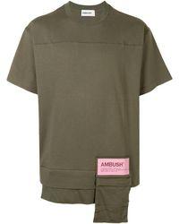 Ambush パッチポケット Tシャツ - グリーン
