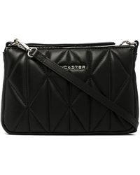 Lancaster Parisienne Quilted Crossbody Bag - Black