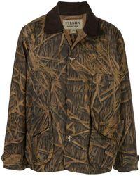 Filson X Mossy Oak Camouflage-Mantel - Braun