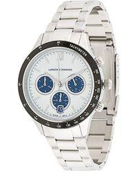 Larsson & Jennings - Chain Strap Engraved Logo Watch - Lyst